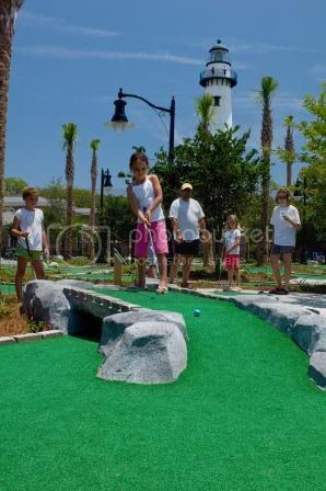 Mini Golf on St. Simoons Island