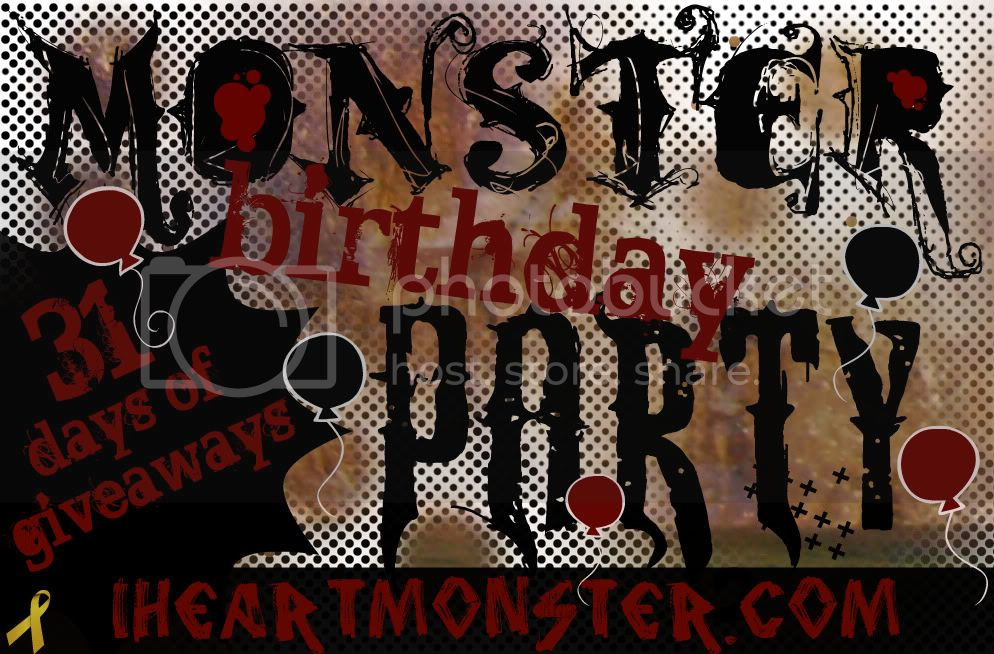 31 Days of Giveaways at I Heart Monster